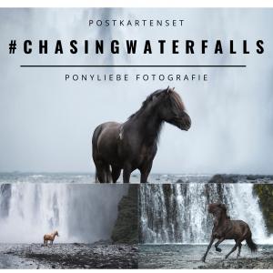 postkarte pferd isländer